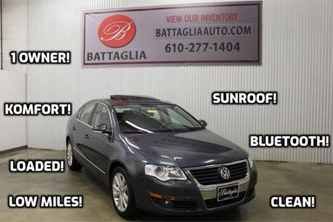2010 Volkswagen Passat for sale at Battaglia Auto Sales in Plymouth Meeting PA