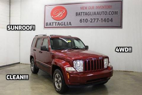 2008 Jeep Liberty for sale at Battaglia Auto Sales in Plymouth Meeting PA