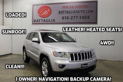 2011 Jeep Grand Cherokee for sale at Battaglia Auto Sales in Plymouth Meeting PA