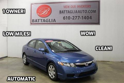 2009 Honda Civic for sale at Battaglia Auto Sales in Plymouth Meeting PA