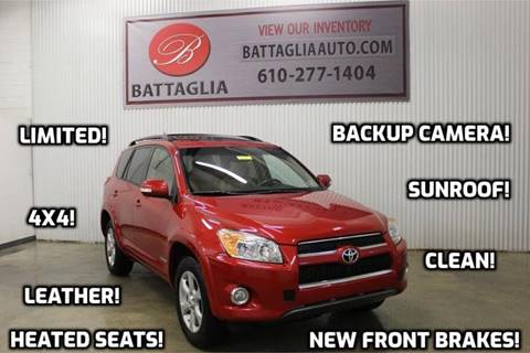 2010 Toyota RAV4 for sale at Battaglia Auto Sales in Plymouth Meeting PA