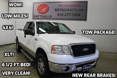 2007 Ford F-150 for sale at Battaglia Auto Sales in Plymouth Meeting PA