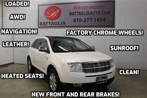 2008 Lincoln MKX for sale at Battaglia Auto Sales in Plymouth Meeting PA