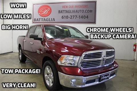 2016 RAM Ram Pickup 1500 for sale at Battaglia Auto Sales in Plymouth Meeting PA