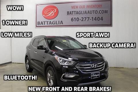 2017 Hyundai Santa Fe Sport for sale at Battaglia Auto Sales in Plymouth Meeting PA