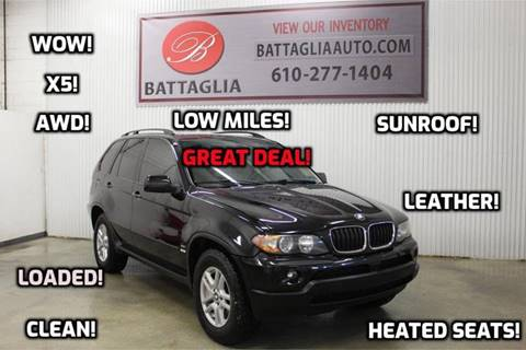 2006 BMW X5 for sale at Battaglia Auto Sales in Plymouth Meeting PA