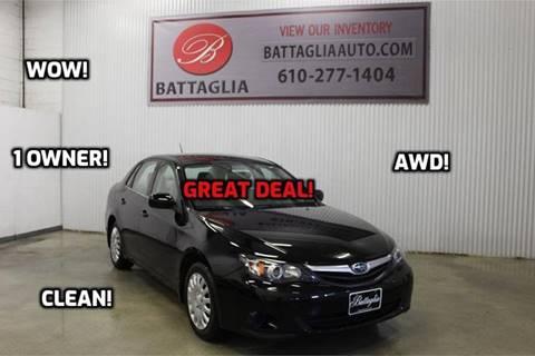 2011 Subaru Impreza for sale at Battaglia Auto Sales in Plymouth Meeting PA