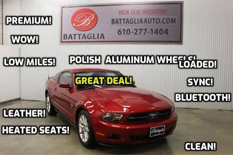 2010 Ford Mustang for sale at Battaglia Auto Sales in Plymouth Meeting PA