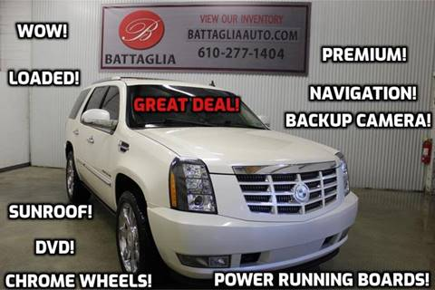 2010 Cadillac Escalade for sale at Battaglia Auto Sales in Plymouth Meeting PA