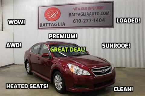 2011 Subaru Legacy for sale at Battaglia Auto Sales in Plymouth Meeting PA