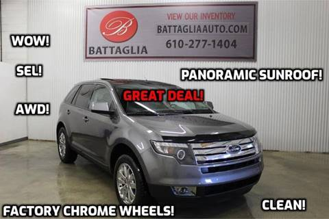 2010 Ford Edge for sale at Battaglia Auto Sales in Plymouth Meeting PA