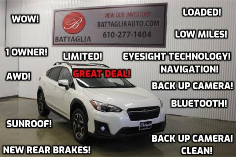 2018 Subaru Crosstrek for sale at Battaglia Auto Sales in Plymouth Meeting PA