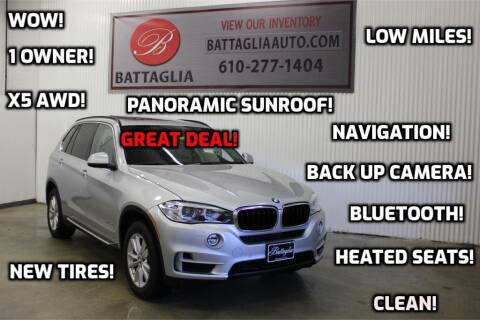 2015 BMW X5 for sale at Battaglia Auto Sales in Plymouth Meeting PA