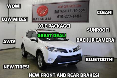 2013 Toyota RAV4 for sale at Battaglia Auto Sales in Plymouth Meeting PA