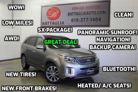 2014 Kia Sorento for sale at Battaglia Auto Sales in Plymouth Meeting PA