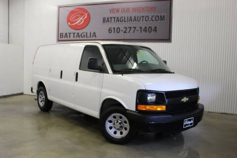 2013 Chevrolet Express Cargo for sale at Battaglia Auto Sales in Plymouth Meeting PA