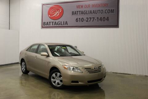 2008 Toyota Camry for sale at Battaglia Auto Sales in Plymouth Meeting PA