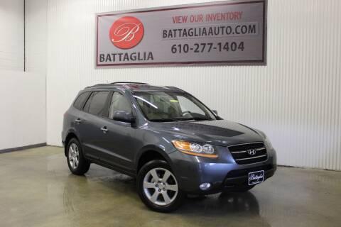 2009 Hyundai Santa Fe for sale at Battaglia Auto Sales in Plymouth Meeting PA