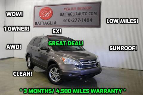 2010 Honda CR-V for sale at Battaglia Auto Sales in Plymouth Meeting PA