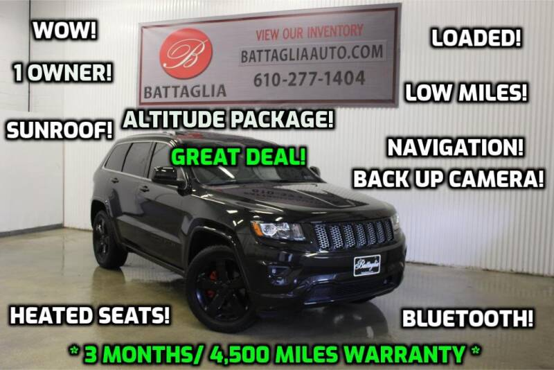 2015 Jeep Grand Cherokee for sale at Battaglia Auto Sales in Plymouth Meeting PA