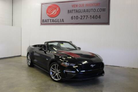 2019 Ford Mustang for sale at Battaglia Auto Sales in Plymouth Meeting PA