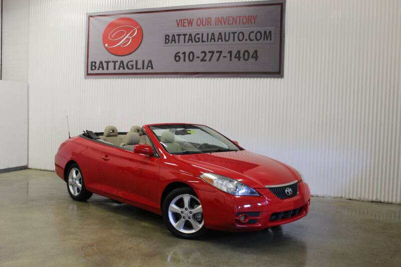 2008 Toyota Camry Solara for sale at Battaglia Auto Sales in Plymouth Meeting PA