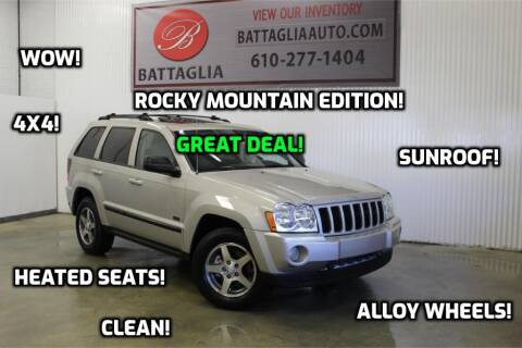 2007 Jeep Grand Cherokee for sale at Battaglia Auto Sales in Plymouth Meeting PA