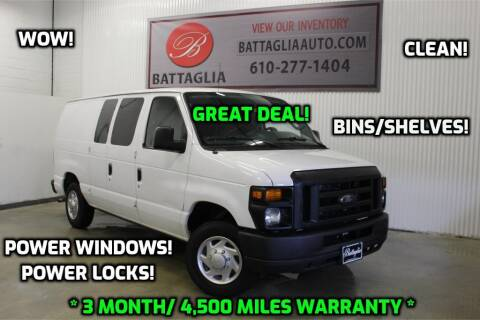 2013 Ford E-Series Cargo for sale at Battaglia Auto Sales in Plymouth Meeting PA