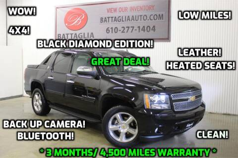 2013 Chevrolet Avalanche for sale at Battaglia Auto Sales in Plymouth Meeting PA