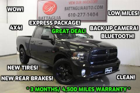 2015 RAM Ram Pickup 1500 for sale at Battaglia Auto Sales in Plymouth Meeting PA
