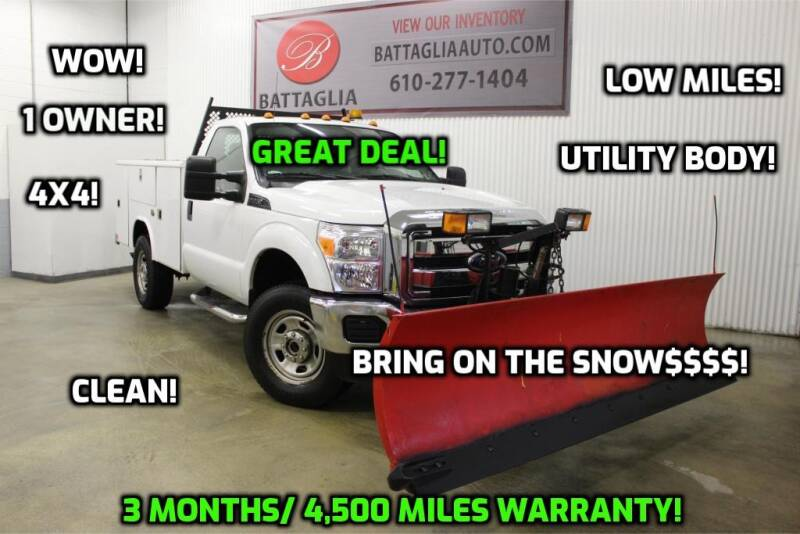 2011 Ford F-350 Super Duty for sale at Battaglia Auto Sales in Plymouth Meeting PA