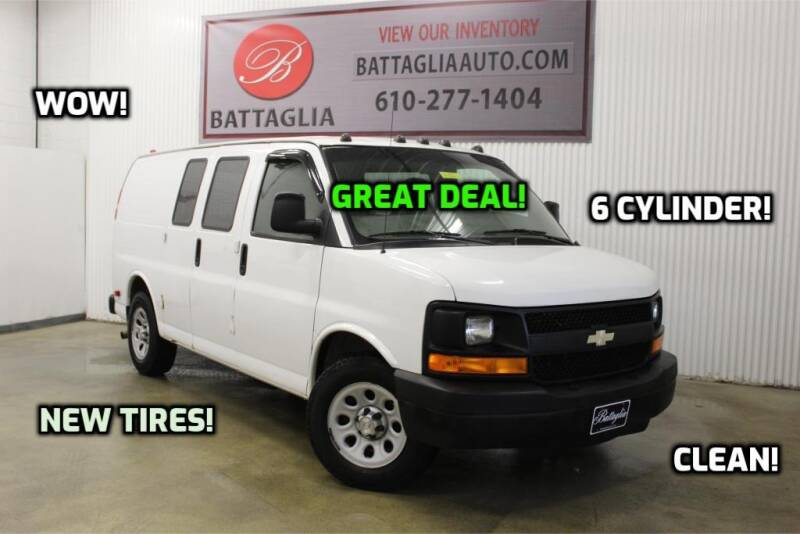 2009 Chevrolet Express Cargo for sale at Battaglia Auto Sales in Plymouth Meeting PA