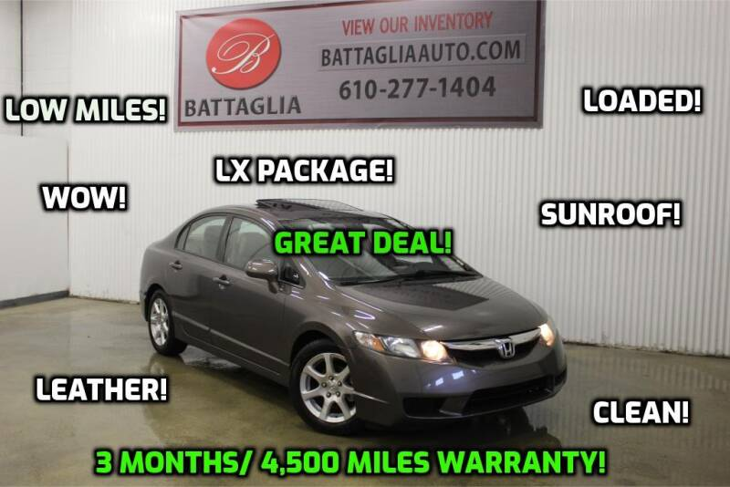 2011 Honda Civic for sale at Battaglia Auto Sales in Plymouth Meeting PA