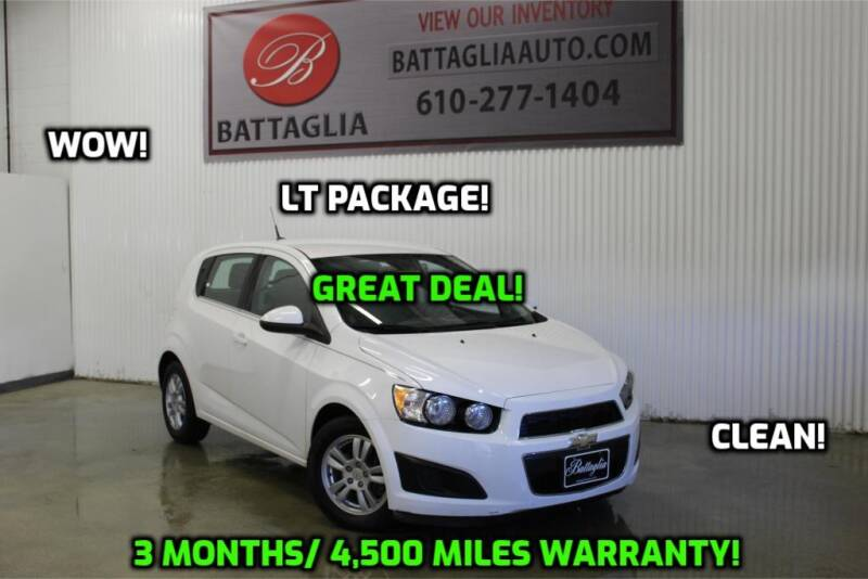 2012 Chevrolet Sonic for sale at Battaglia Auto Sales in Plymouth Meeting PA