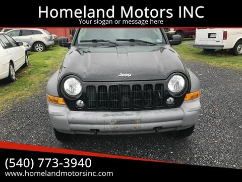 2005 Jeep Liberty for sale in Winchester, VA