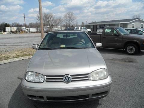 1999 Volkswagen Cabrio for sale in Winchester, VA