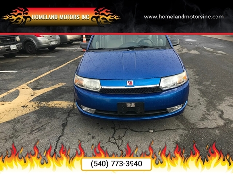 2004 Saturn Ion for sale in Winchester, VA