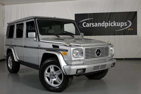 2002 Mercedes-Benz G-Class for sale in Addison, TX