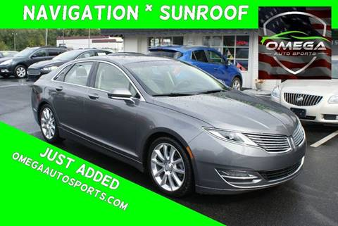 2014 Lincoln MKZ for sale in Noblesville, IN