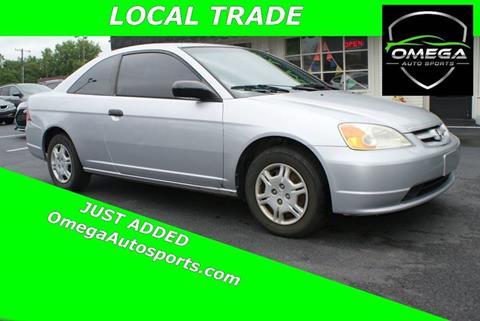 2001 Honda Civic for sale in Noblesville, IN
