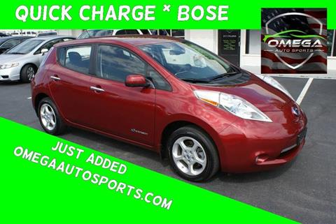 2014 Nissan LEAF for sale in Noblesville, IN