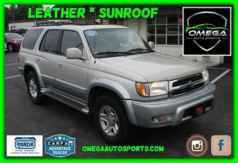 Good 2000 Toyota 4Runner Limited
