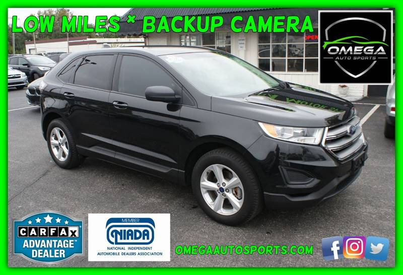 Ford Edge Se Dr Crossover Noblesville In