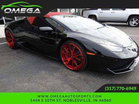 2016 Lamborghini Huracan for sale in Noblesville, IN
