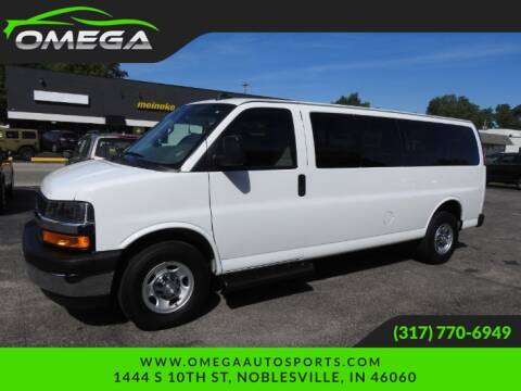 2019 Chevrolet Express Passenger for sale at Omega Auto Sports in Noblesville IN