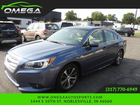 2016 Subaru Legacy for sale at Omega Auto Sports in Noblesville IN