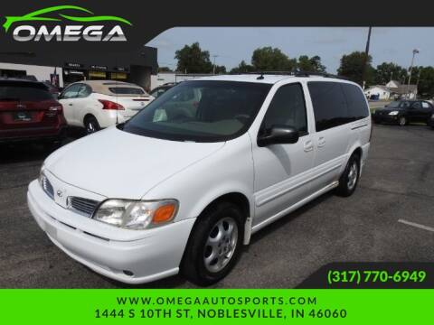 2002 Oldsmobile Silhouette for sale at Omega Auto Sports in Noblesville IN