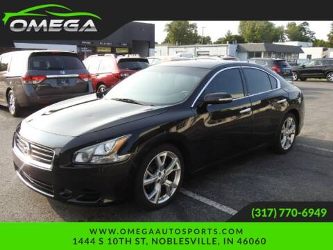2012 Nissan Maxima for sale at Omega Auto Sports in Noblesville IN