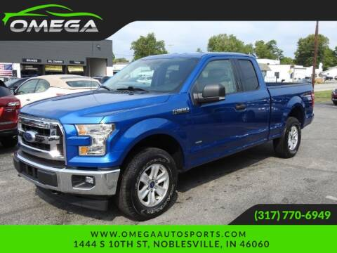 2017 Ford F-150 for sale at Omega Auto Sports in Noblesville IN