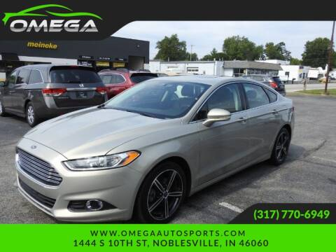 2015 Ford Fusion for sale at Omega Auto Sports in Noblesville IN